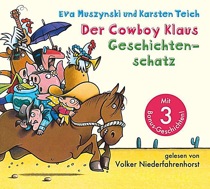 Image of Der Cowboy Klaus Geschichtenschatz, 2 Audio-CDs