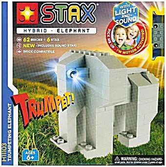 Image of Light Stax, Bausteine, Trumpeting Elephant
