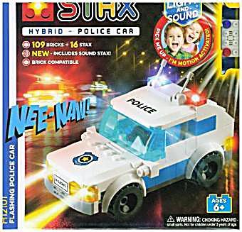 Image of Light Stax, Bausteine, Flashing Police Car