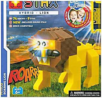 Image of Light Stax, Bausteine, Roaring Lion