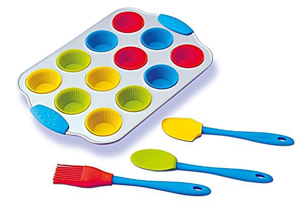 Image of Mini Cupcake-Set, 16-teilig