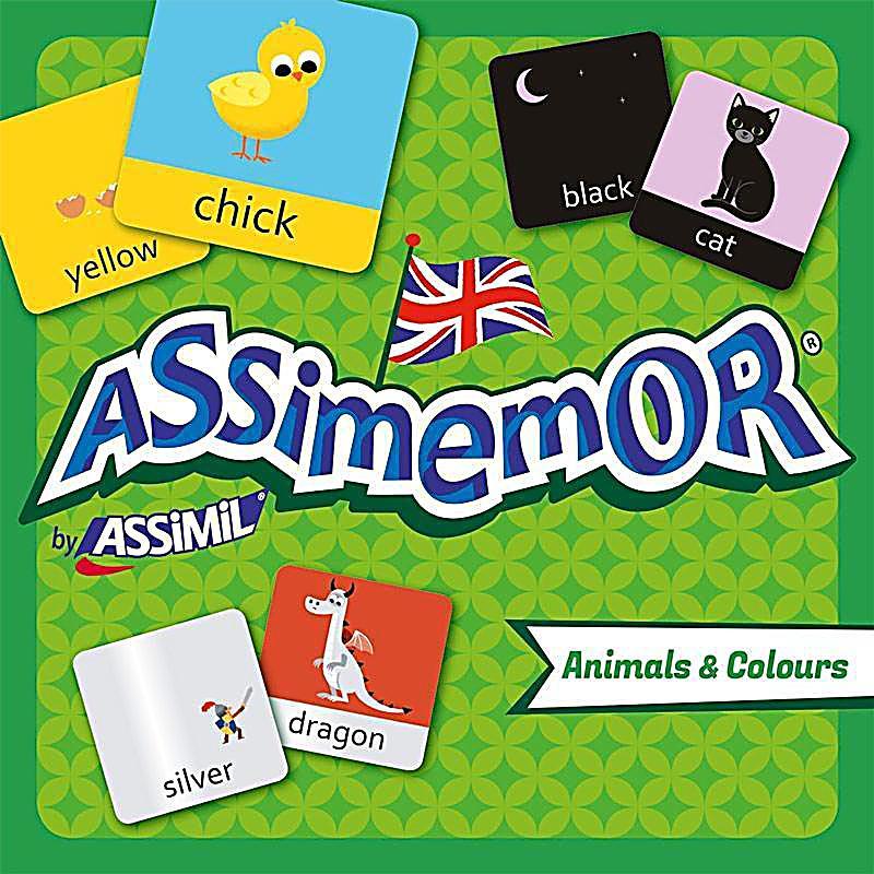 Image of Assimemor, Animals & Colours (Kinderspiel)