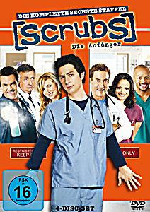 Image of Scrubs: Die Anfänger - Die komplette sechste Staffel