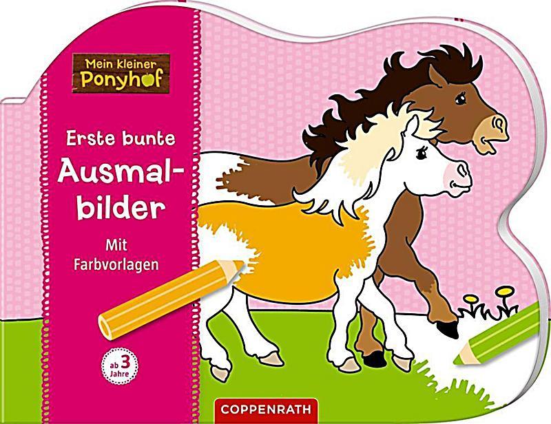 Image of Mein kleiner Ponyhof: Erste bunte Ausmalbilder