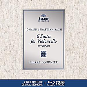 Image of Bach, J.S.: The Cello Suites (3 CDs + Blu-ray Audio)