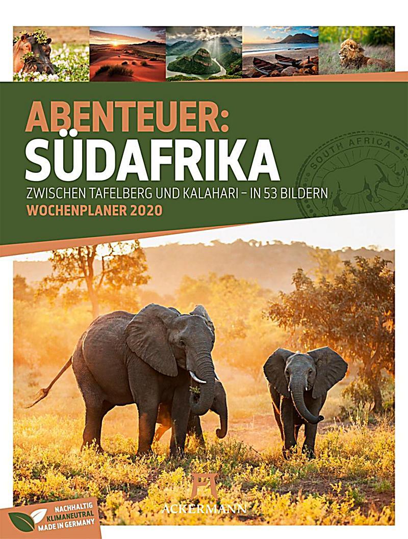 Image of Abenteuer: Südafrika - Wochenplaner 2020