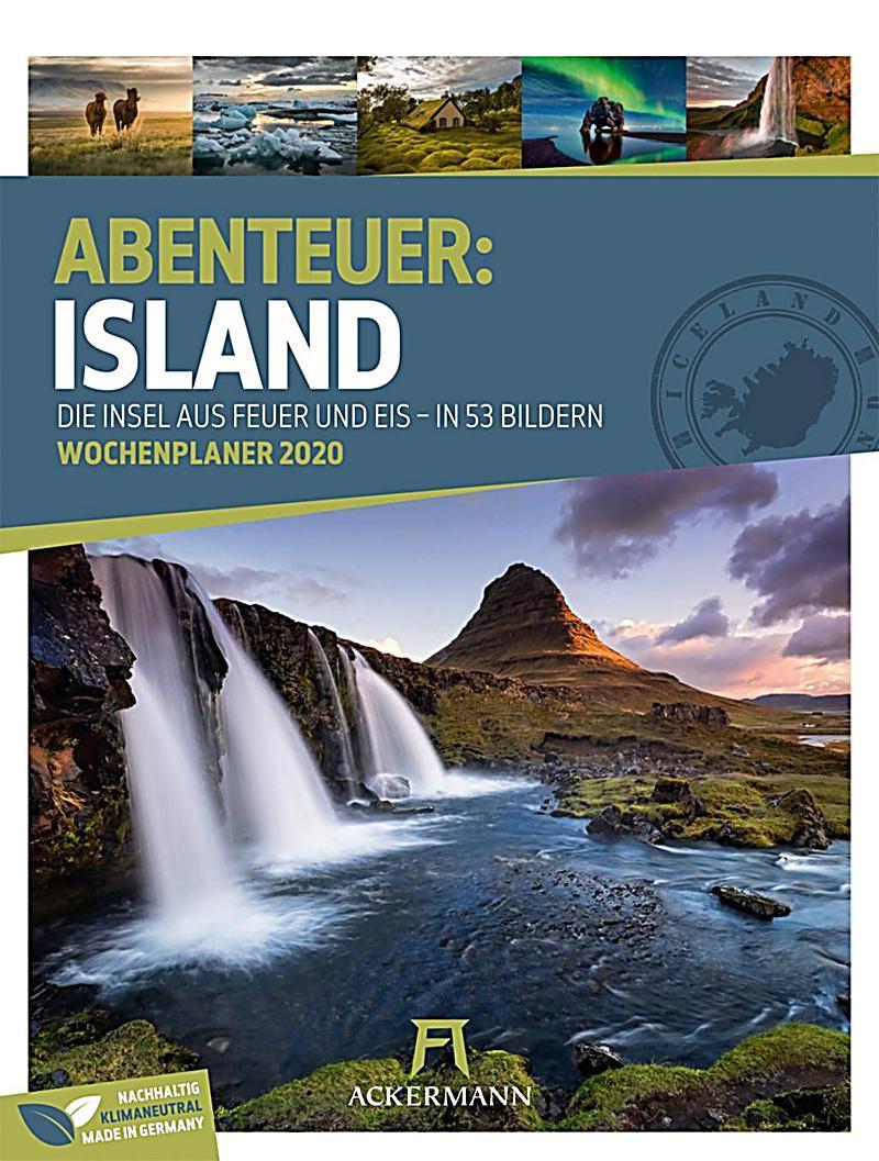 Image of Abenteuer: Island - Wochenplaner 2020