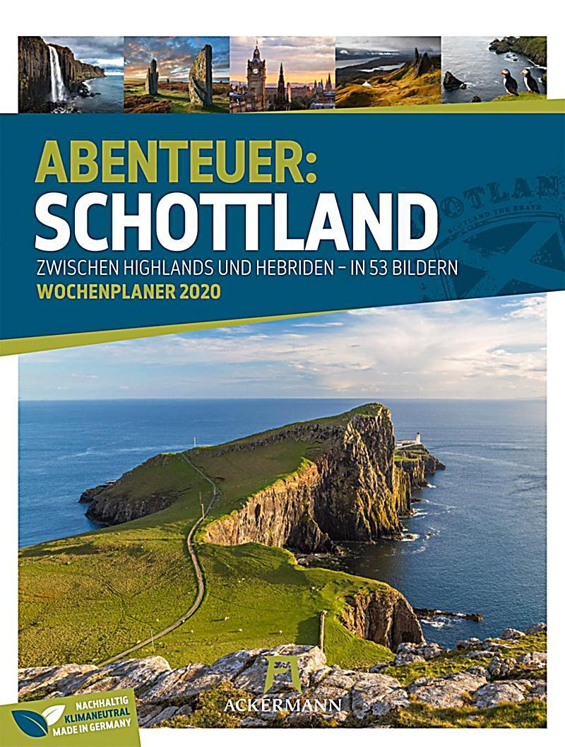 Image of Abenteuer: Schottland - Wochenplaner 2020