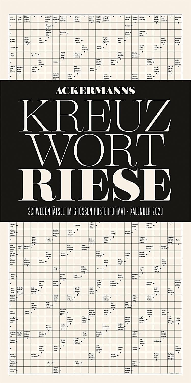 Image of Ackermanns Kreuzwortriese 2020