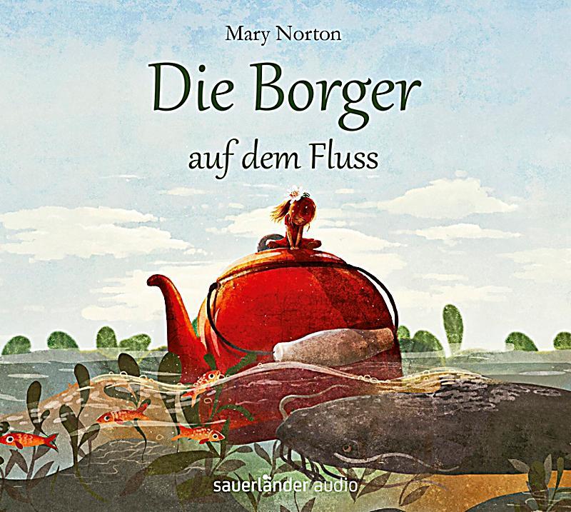 Image of Die Borger auf dem Fluss, 4 Audio-CDs
