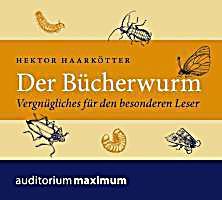 Image of Der Bücherwurm, Audio-CD