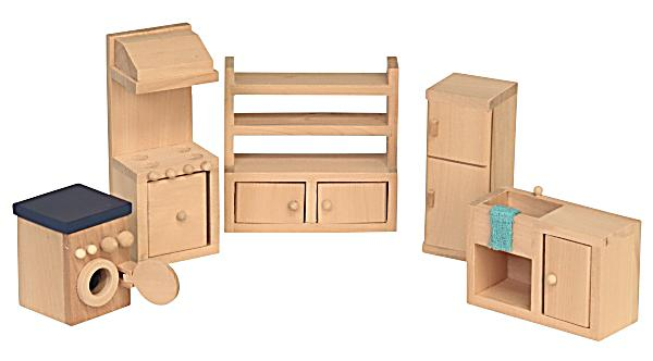 Image of Beluga Spielwaren Puppenhausmöbel Küche, 5-teilig