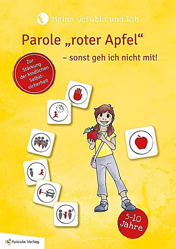 """Image of Meine Gefühle und ich - Parole """"roter Apfel"""" - sonst geh ich nicht mit"""