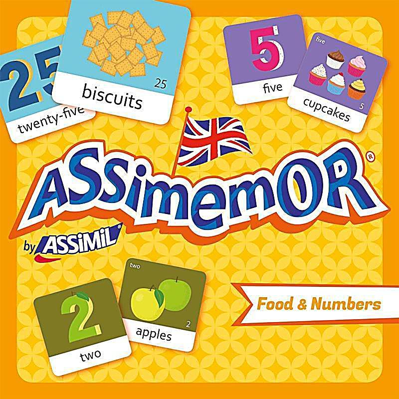 Image of Assimemor, Food & Numbers (Kinderspiel)