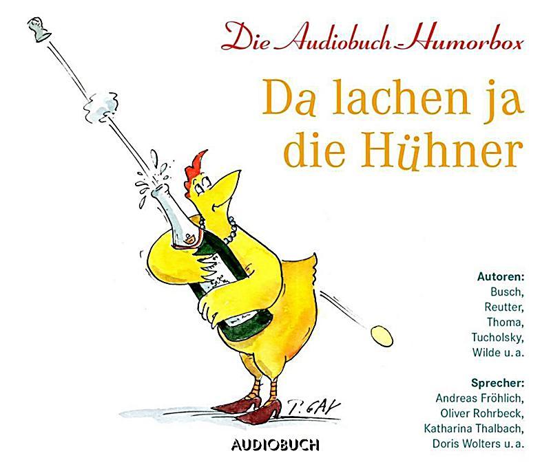 Image of Da lachen ja die Hühner, 3 Audio-CDs