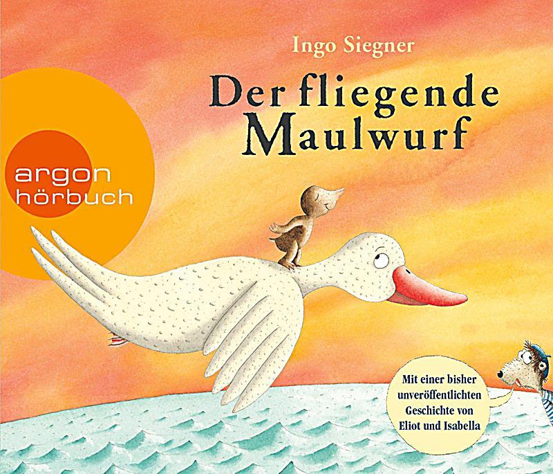 Image of Der fliegende Maulwurf, 3 Audio-CDs