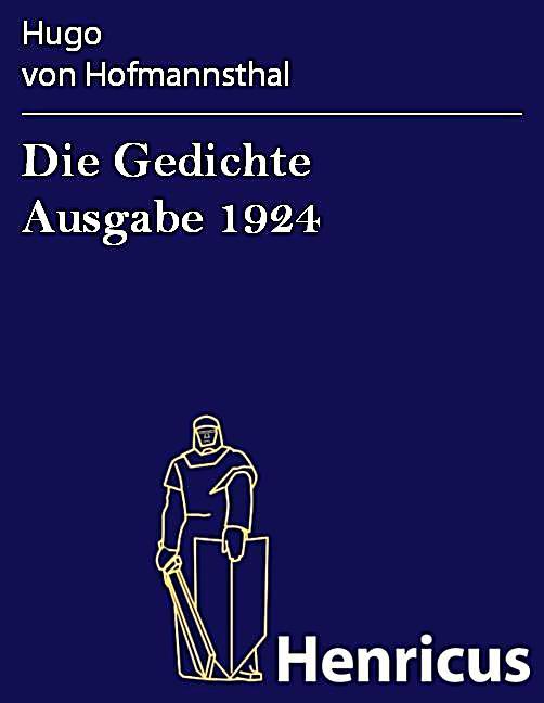Die Gedichte Ausgabe 1924