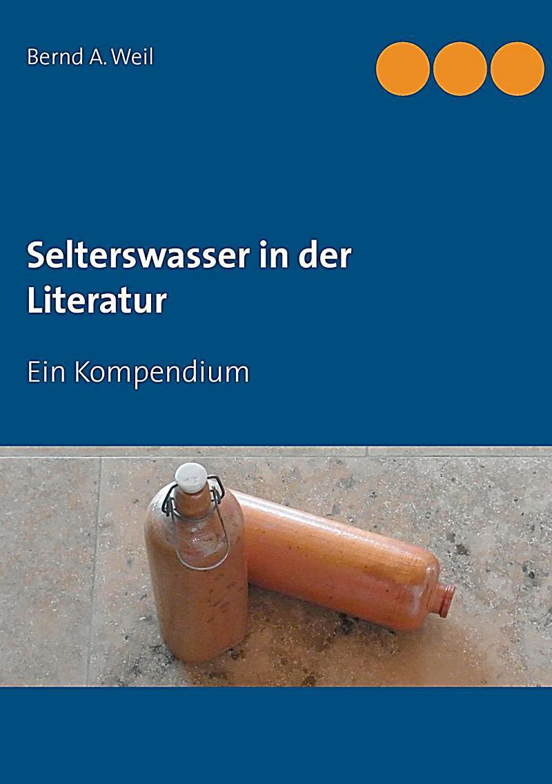 Selterswasser in der Literatur