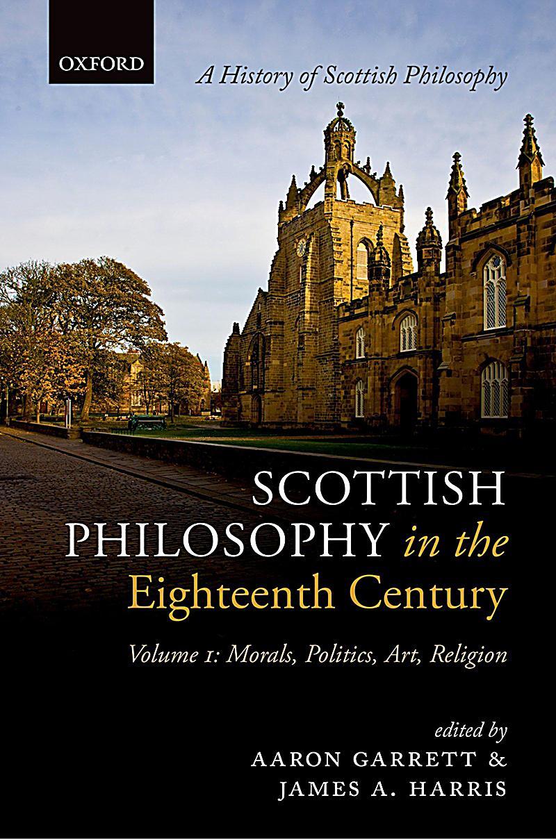 Scottish Philosophy in the Eighteenth Century, Volume I