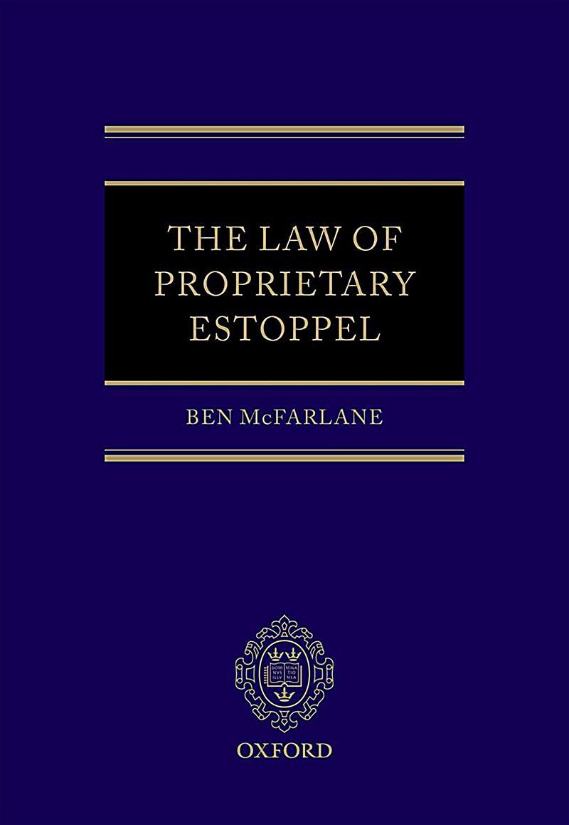 The Law of Proprietary Estoppel