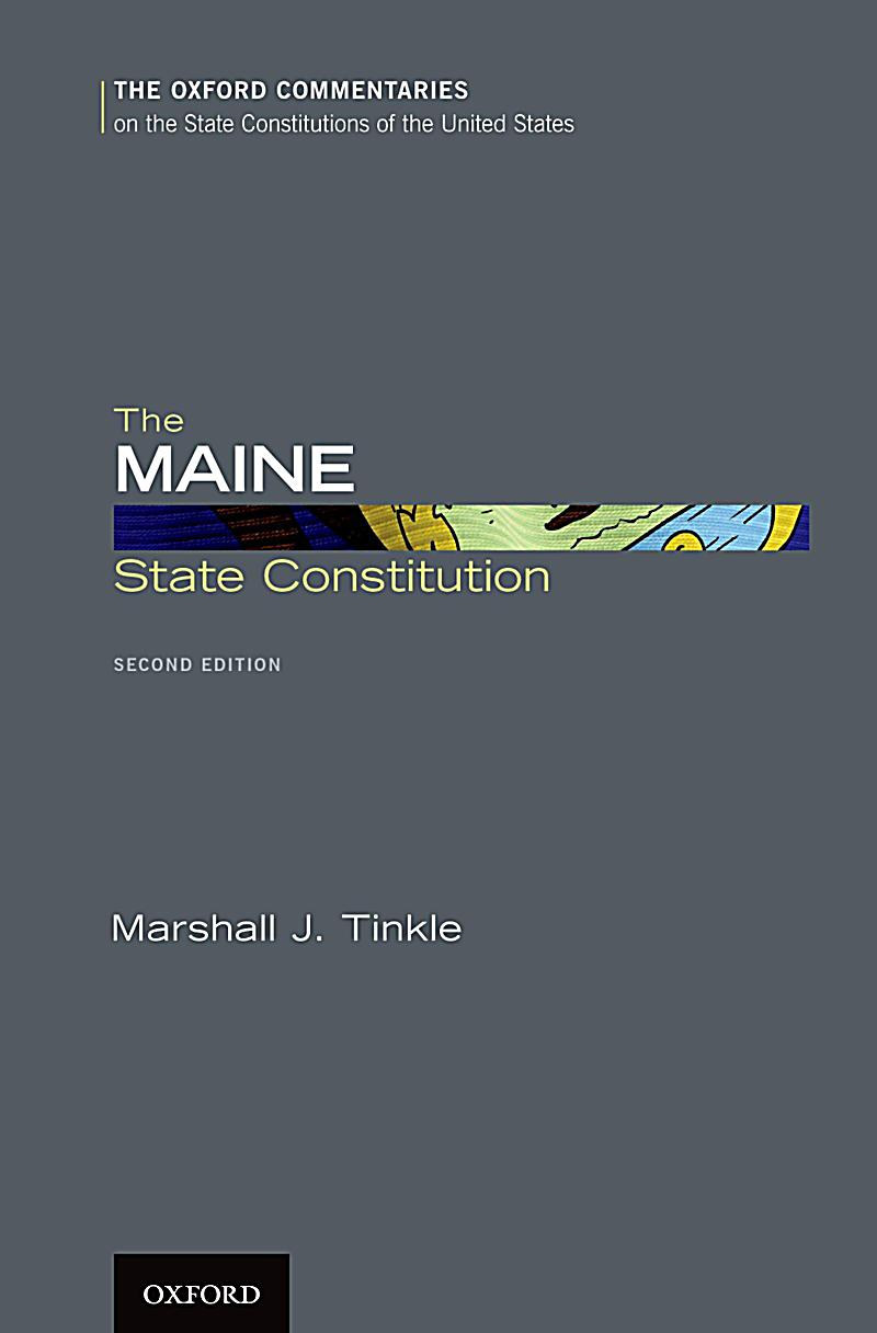 The Maine State Constitution