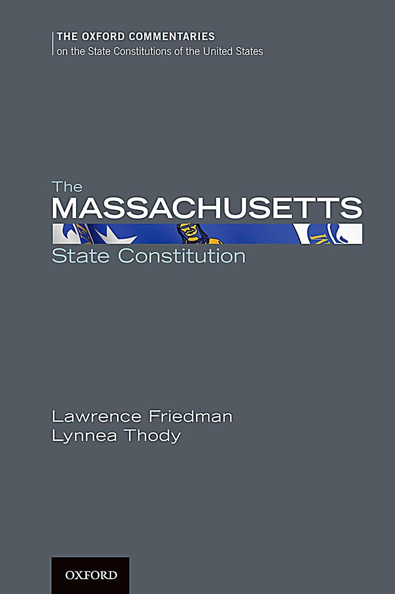 The Massachusetts State Constitution