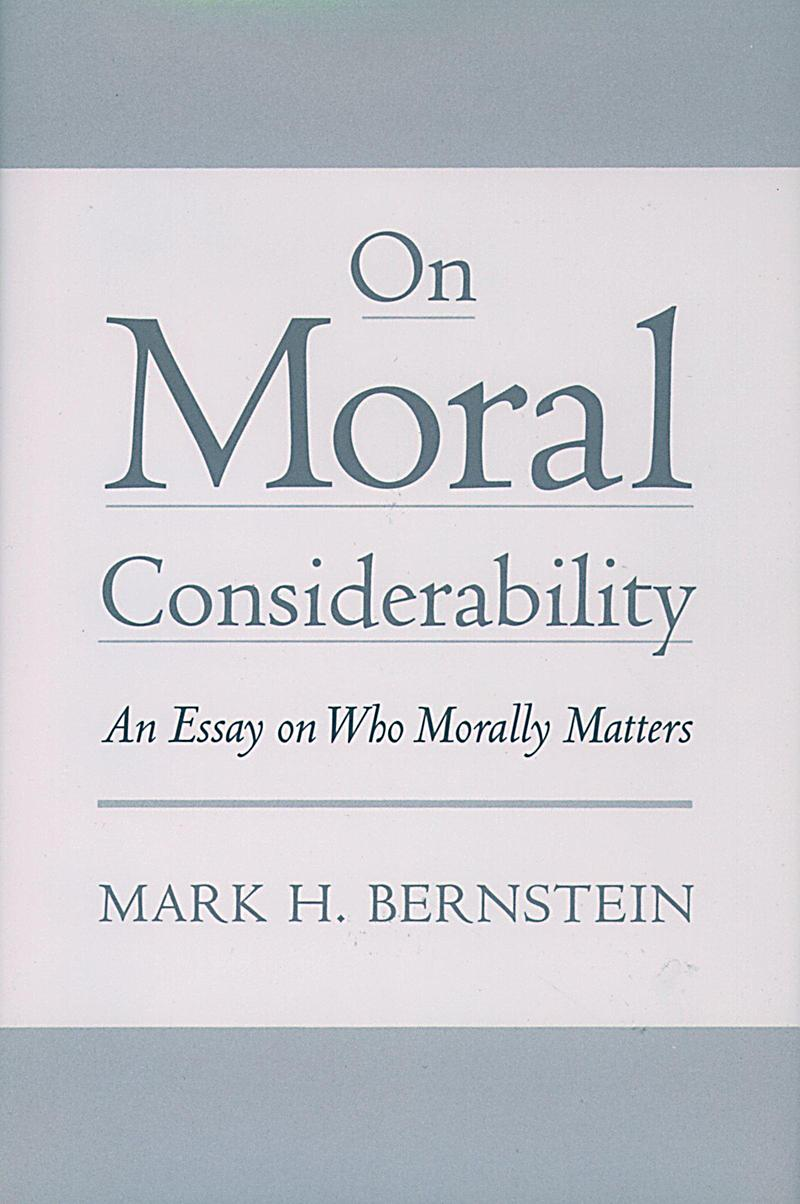 On Moral Considerability