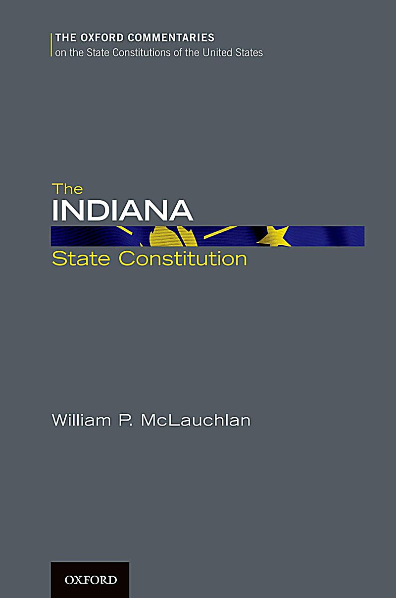 The Indiana State Constitution