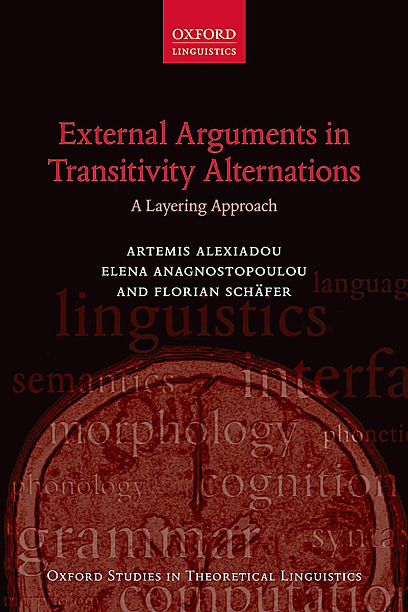 External Arguments in Transitivity Alternations