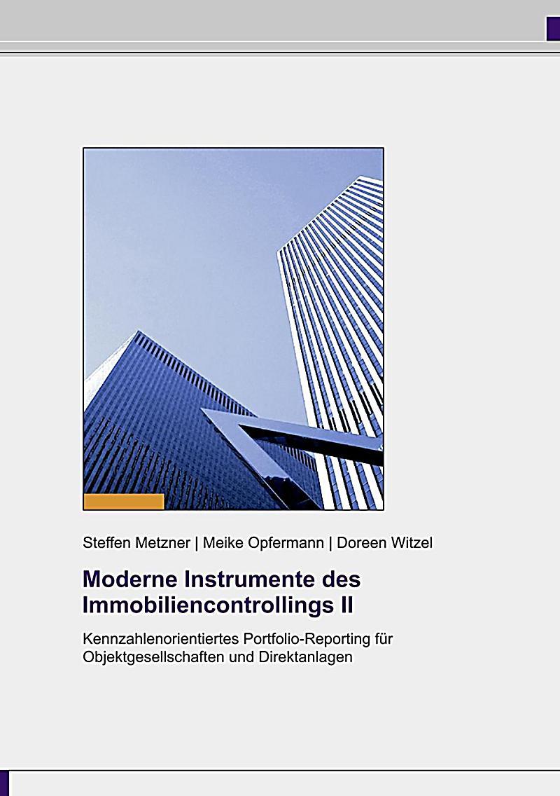 Moderne Instrumente des Immobiliencontrollings II
