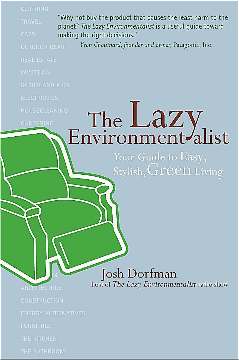 Stewart, Tabori & Chang: The Lazy Environmentalist
