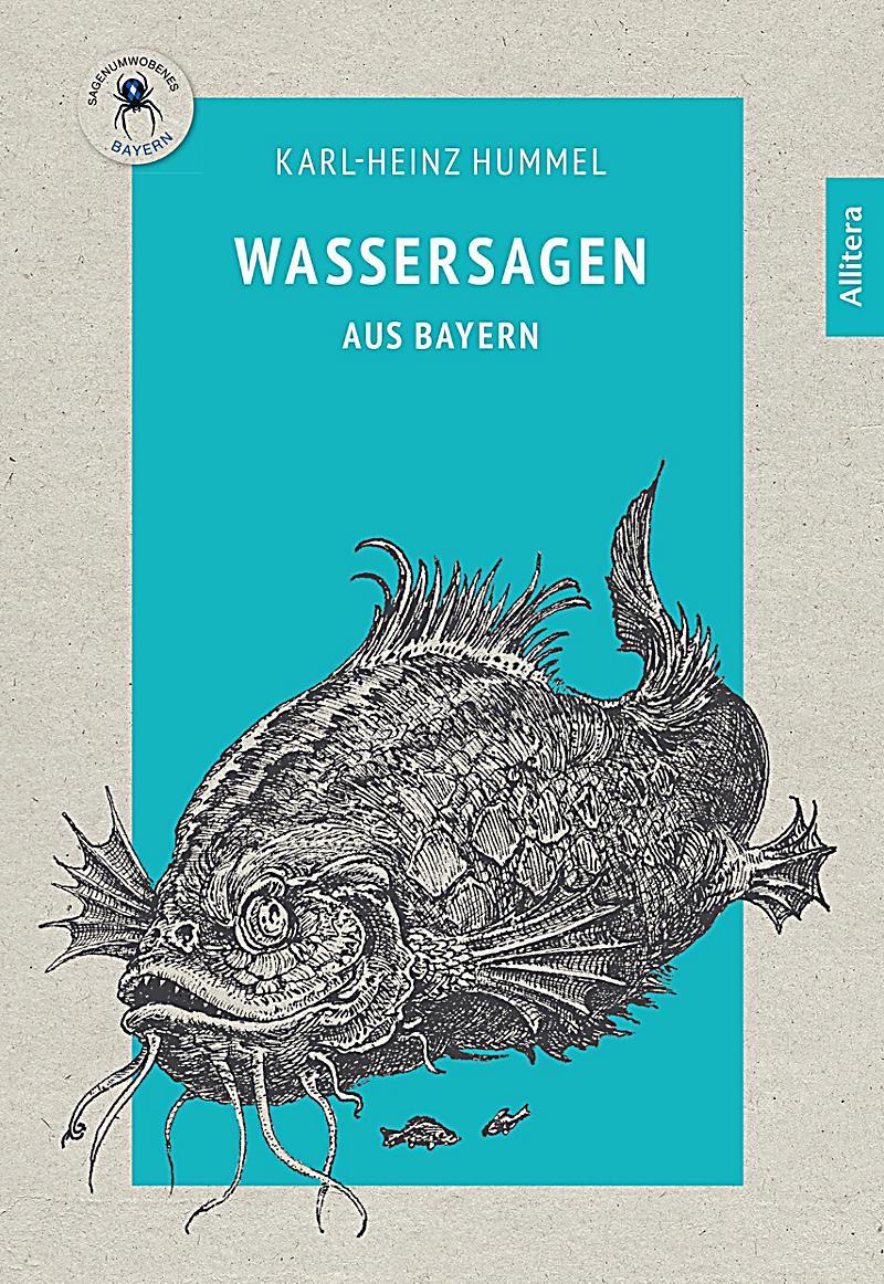 Image of Allitera Verlag: Wassersagen aus Bayern