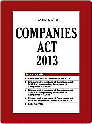 Taxmann Companies Act 2013