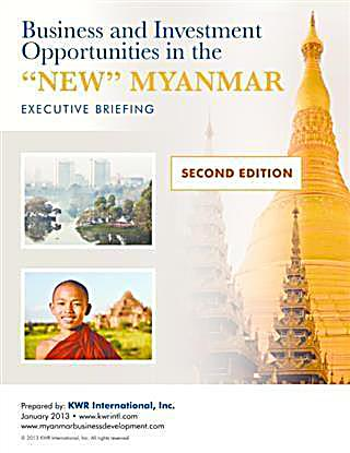 Business and Investment Opportunities in the ´New´ Myanmar