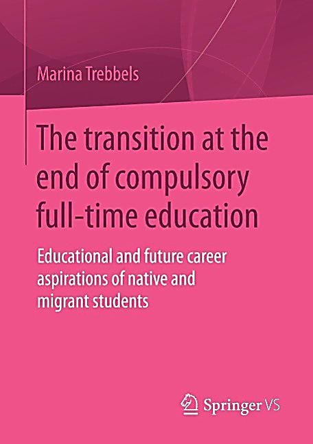 The transition at the end of compulsory full-time education