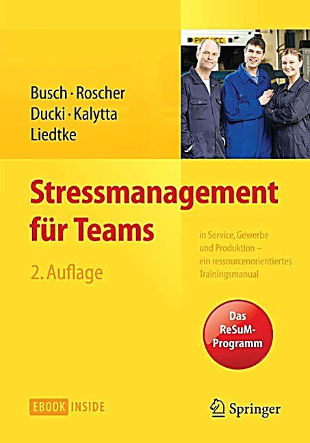 Stressmanagement für Teams