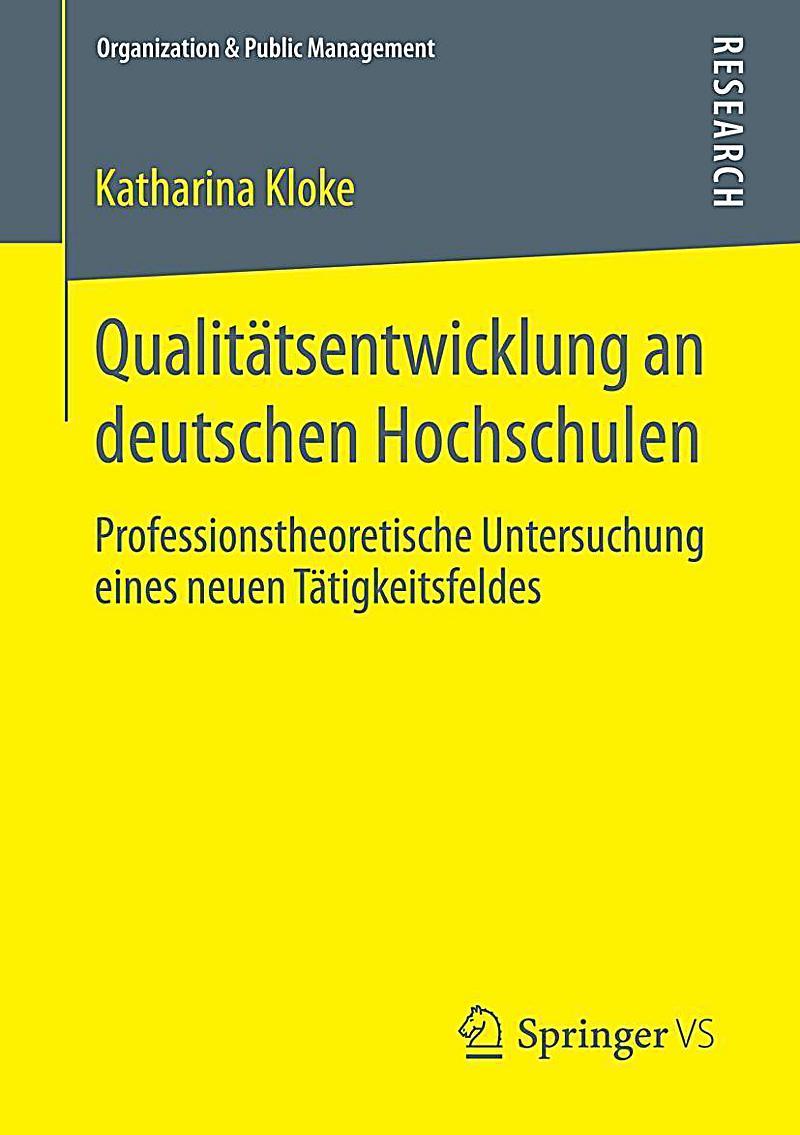Qualitätsentwicklung an deutschen Hochschulen