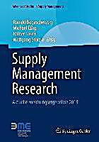 Advanced Studies in Supply Management: Supply Management Research