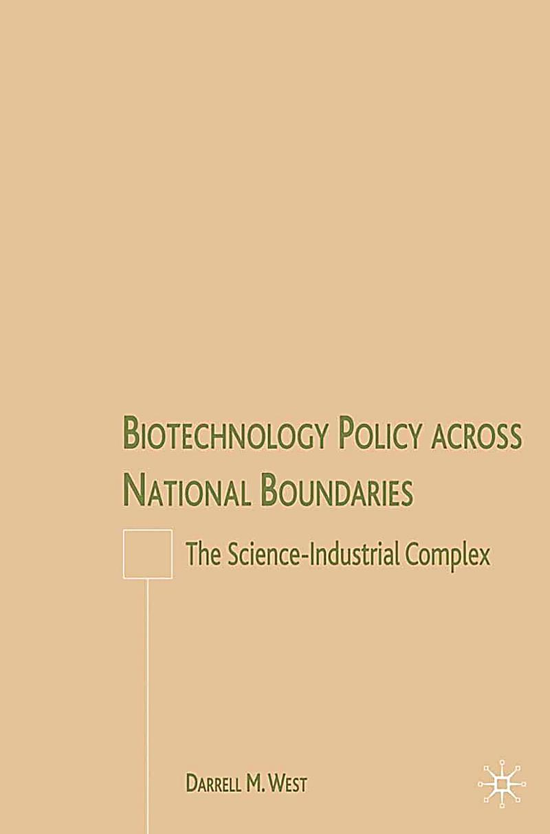 Biotechnology Policy across National Boundaries