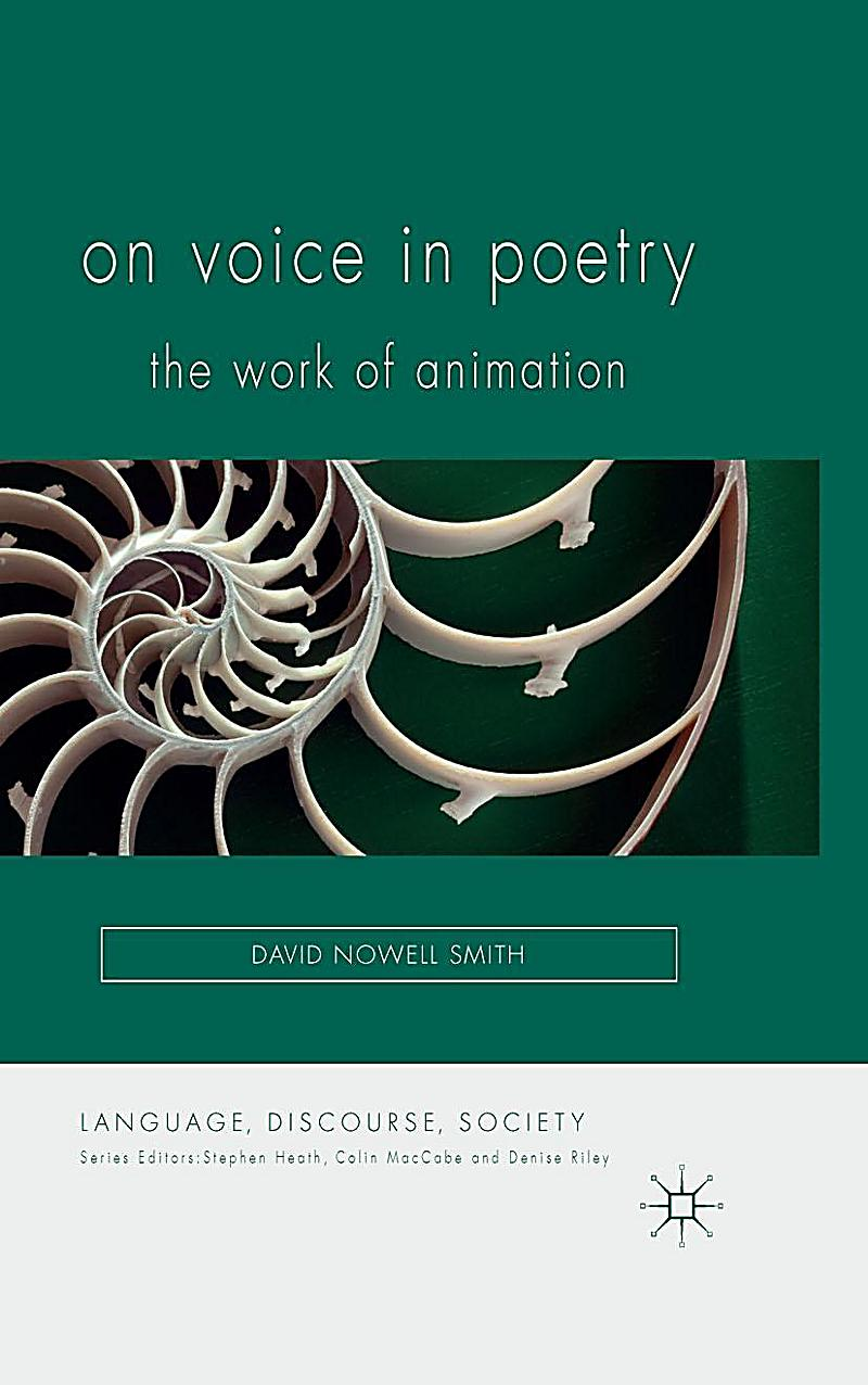 Language, Discourse, Society: On Voice in Poetry
