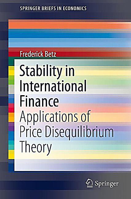 Stability in International Finance