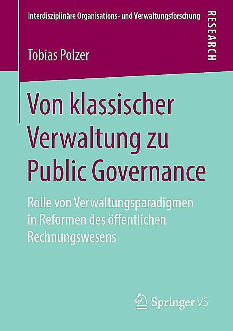 Von klassischer Verwaltung zu Public Governance