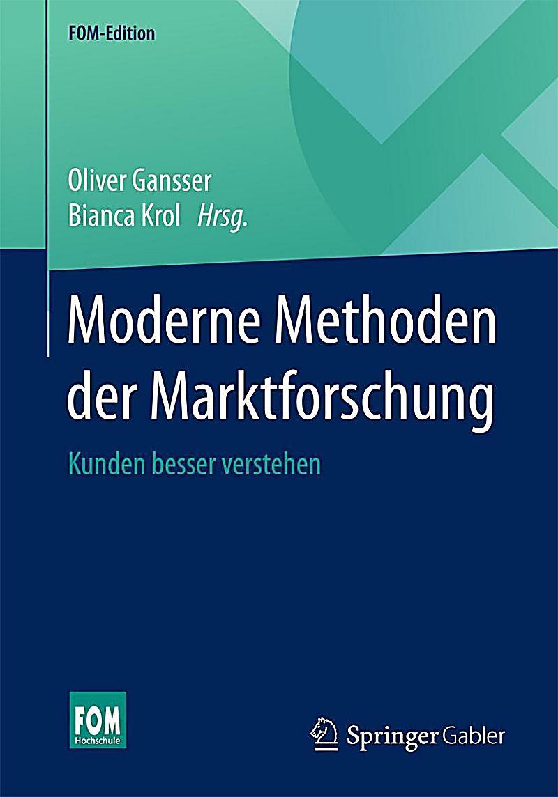 Moderne Methoden der Marktforschung