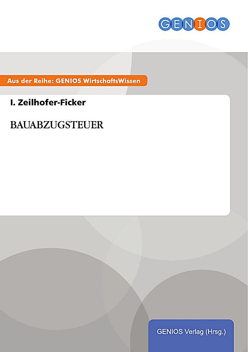 GBI-Genios Verlag: BAUABZUGSTEUER