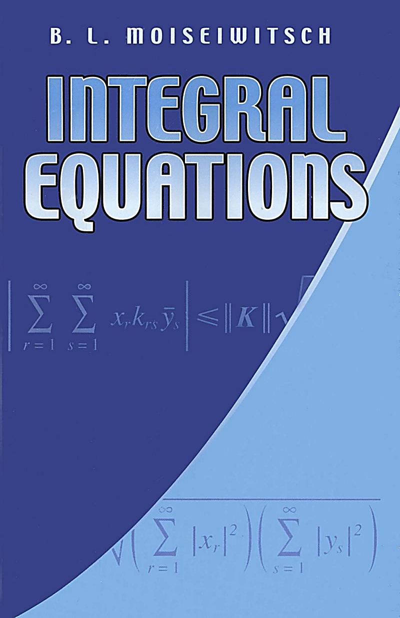Image of Dover Publications: Integral Equations