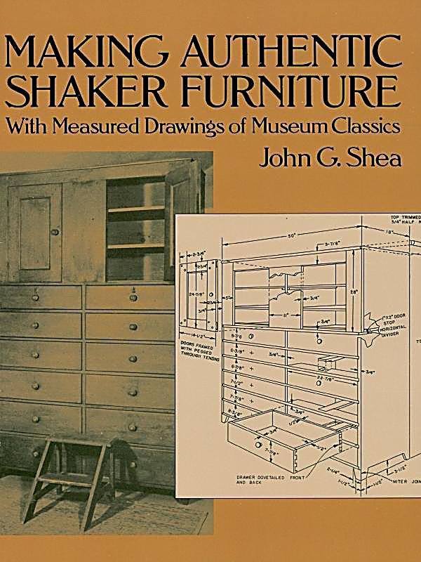 Image of Dover Publications: Making Authentic Shaker Furniture