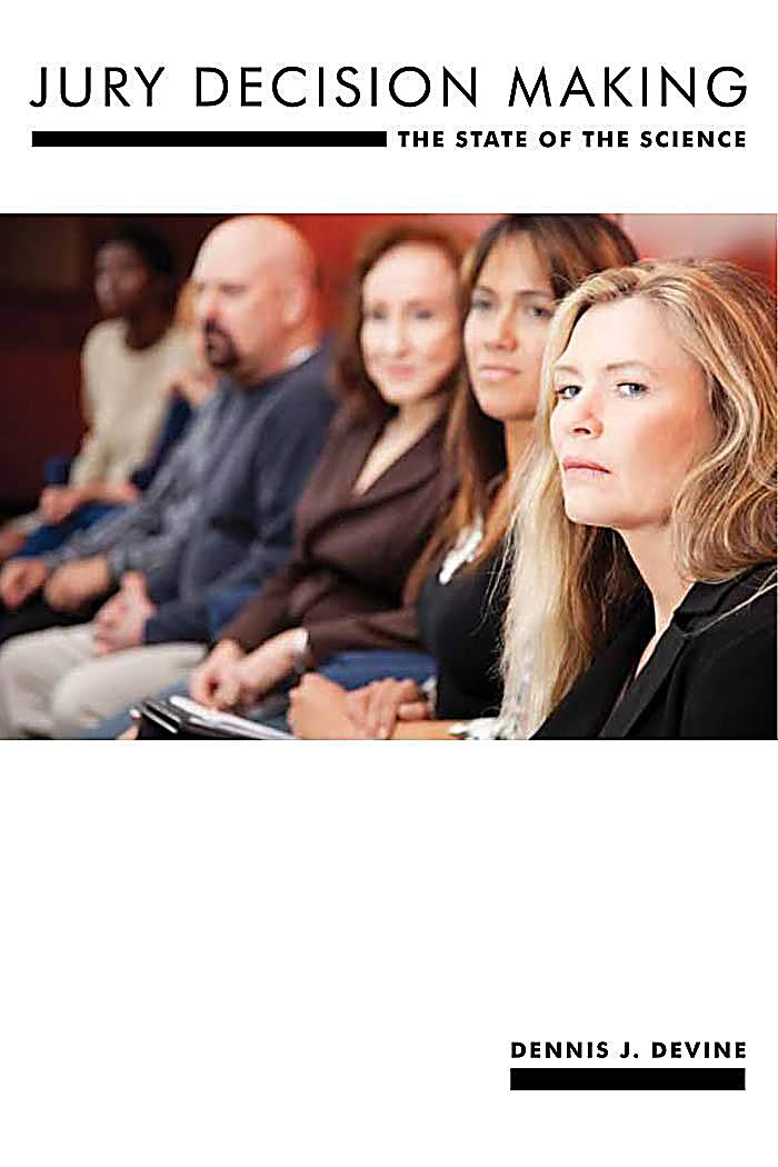 Psychology and Crime: 8 Jury Decision Making