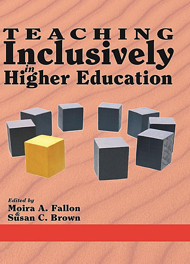 Teaching Inclusively in Higher Education
