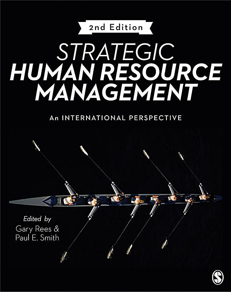 SAGE Publications Ltd: Strategic Human Resource Management