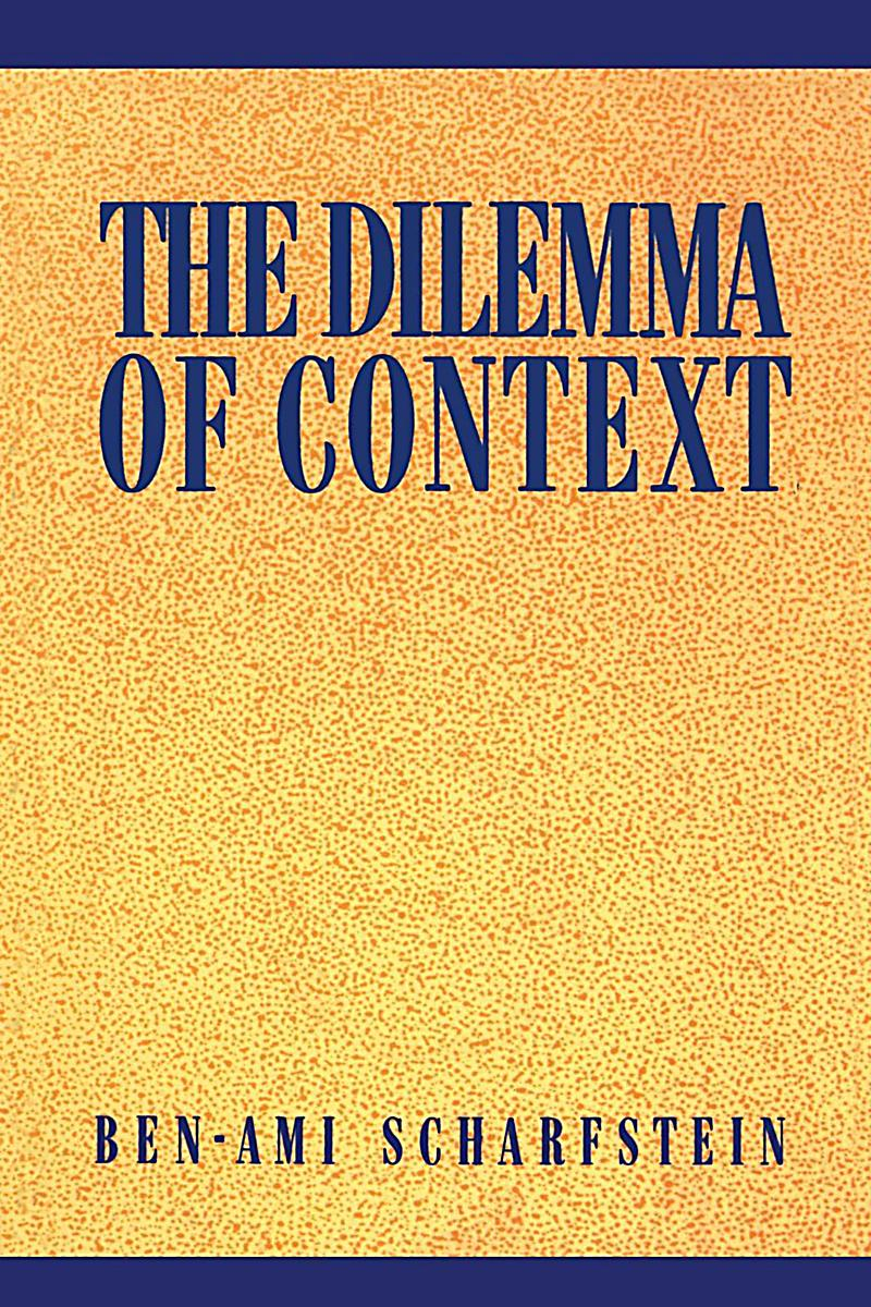 NYU Press: The Dilemma of Context